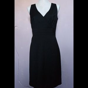 New H&M Classic Black sheath dress 10
